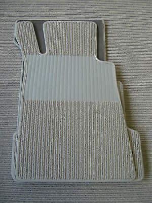 Für Mercedes SL R107  Fußmatten Satz in Rips verschiedene  Farben