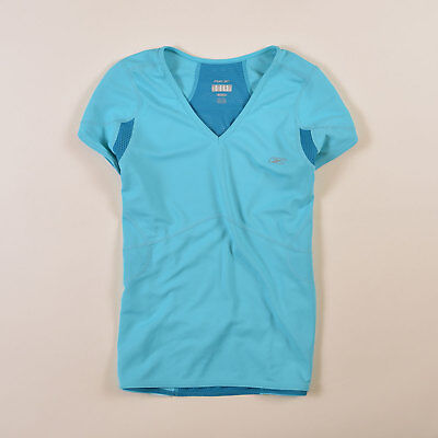 Reebok Damen T-Shirt Shirt Classic Gr.40 PlayDry Supreme Running Blau, 38783