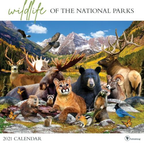 2021 Wildlife of the National Parks Wall Calendar