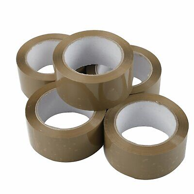 36 Rolls 2x110 Yards330 Ft 2 Mil Brown Carton Packing Package Tape Shipping