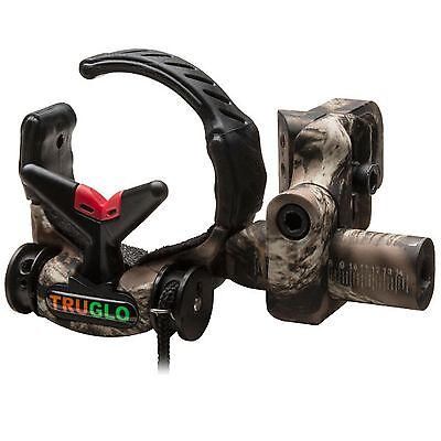 New Truglo Down-Draft Full Containment Drop Away Arrow Rest- Lost Camo