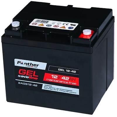 2x Akku 50Ah 12V 24V AGM Gel Batterie Trolley Caddy Rollstuhl 100AH statt 45Ah