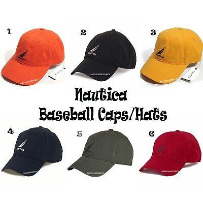 NAUTICA NEW MEN'S NS83 BASEBALL SPORT CAP/HAT CASUAL OUTDOOR SUN CAPS HATS NWT