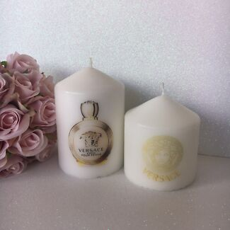 Versace Gold Candle Set