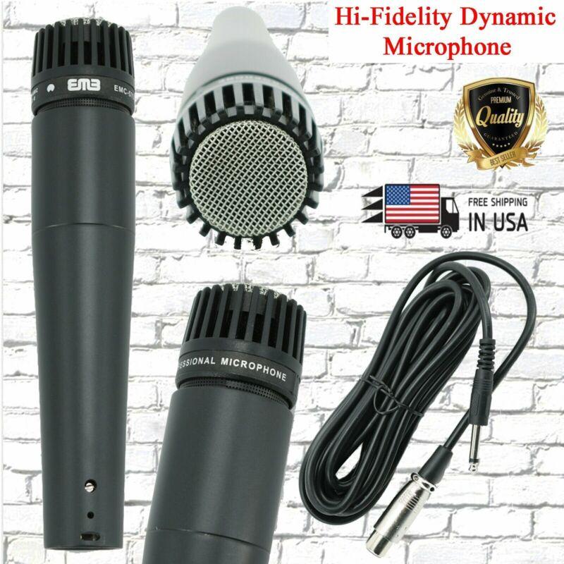 EMC-57S Hi-Fidelity Uni-Directional Dynamic Professional Studio Microphone New