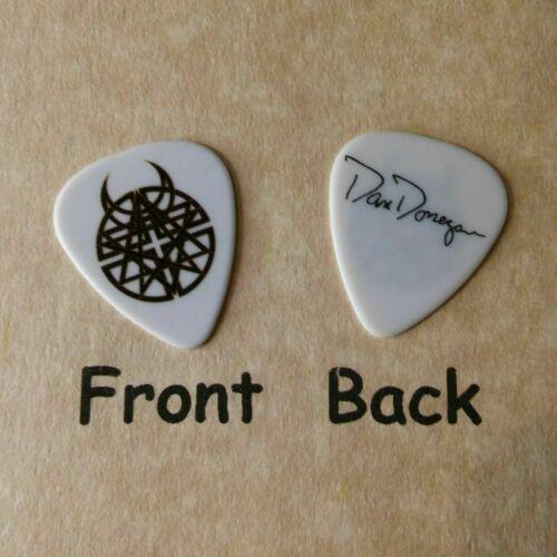 DISTURBED band logo Don Donegan signature guitar pick - (Qd)
