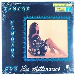 LOS MILLONARIOS: Tangos Famosos FUENTES Stereo SEALED Orig LATIN LP