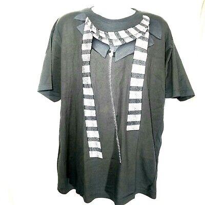 NWT Tranquility Mayhem Mens Big and Tall 3pc Set Gray Vest Tie Size 3XLT Shirt