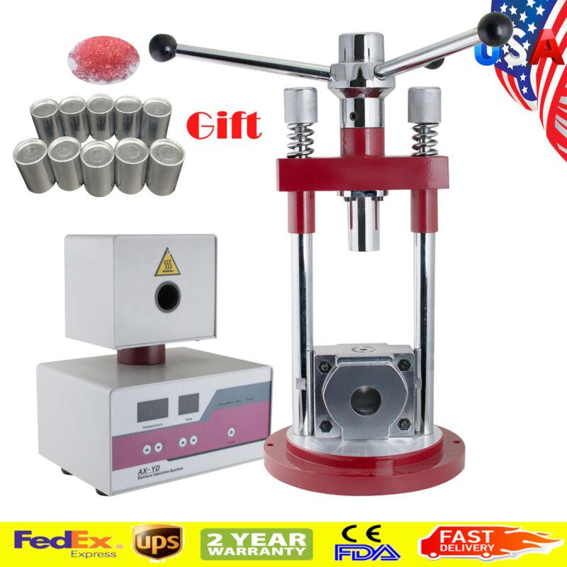 Dental Flexible Denture Injection System Machine Lab Equipment Heater Press+Gift