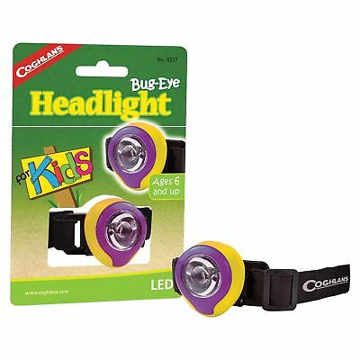 Coghlan's Bug-Eye Headlight for Kids LED Headlamp Compact Lightweight Torch - Kids Headlamp