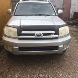 2003 Toyota 4Runner loaded 8/10 condition