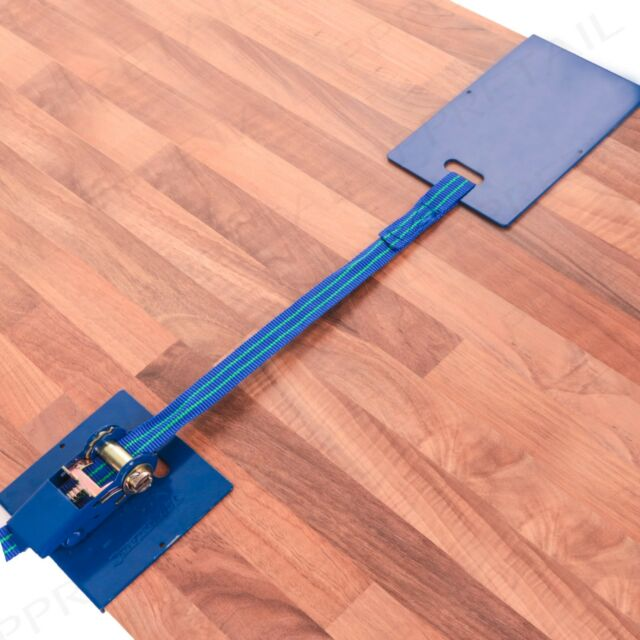 SILVERLINE 130mm LAMINATE FLOOR CLAMP Wooden Boards Flooring Installing Straps