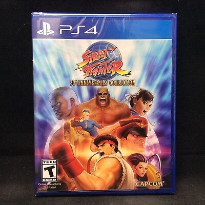 Street Fighter 30Th Anniversary Collection  Playstation 4  Brand New In Stock