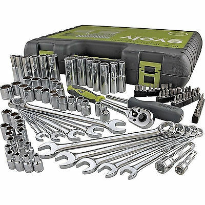 Craftsman Evolv 101 pc Mechanics SAE and Metric Tool Set Tools Sockets Wrench