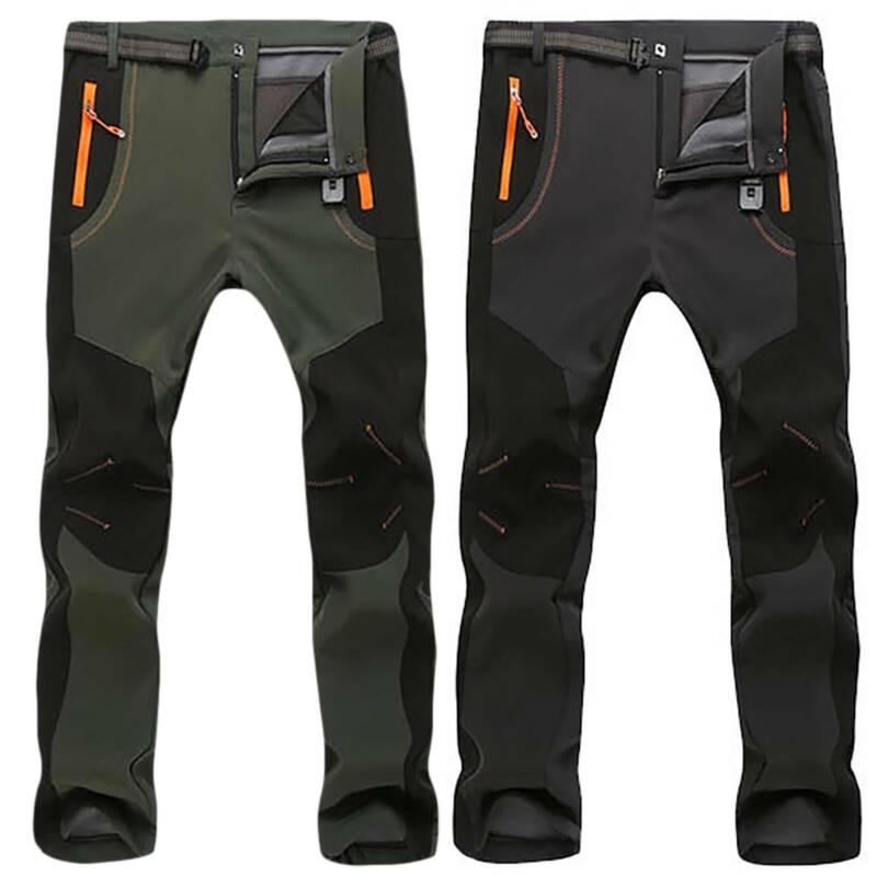 Men's Waterproof Outdoor Winter Thermal Pants Hiking Skiing