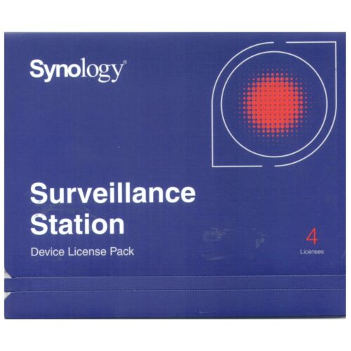 Synology IP Camera 4-License Pack Kit for Surveillance Station - All-Bays NAS