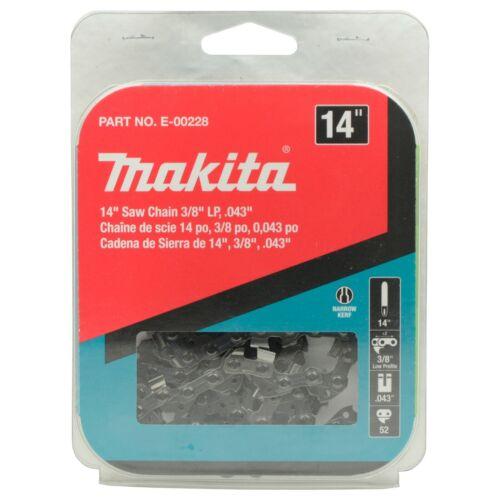 Makita E-00228 3/8in LP .043in Saw Chain Replacement for XCU02 XCU03 XCU04 XCU07