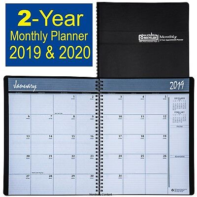 2019 2020 Hod262002 House Of Doolittle 2-year Monthly Appt Planner 8-12 X11
