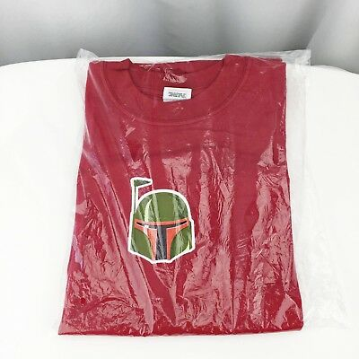 Boba Fett Star Wars Industrial Light and Magic Siggraph 2001 Promotion T-shirt M
