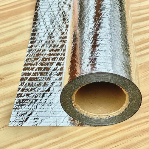 Radiant Barrier - Entry Level - Breathable 500 sf roll - Attic Foil Insulation