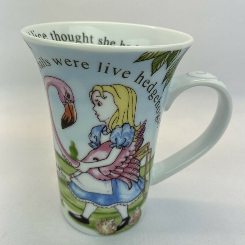 Alice In Wonderland Cafe Paul Cardew Collectible Cafe Coffee Mug