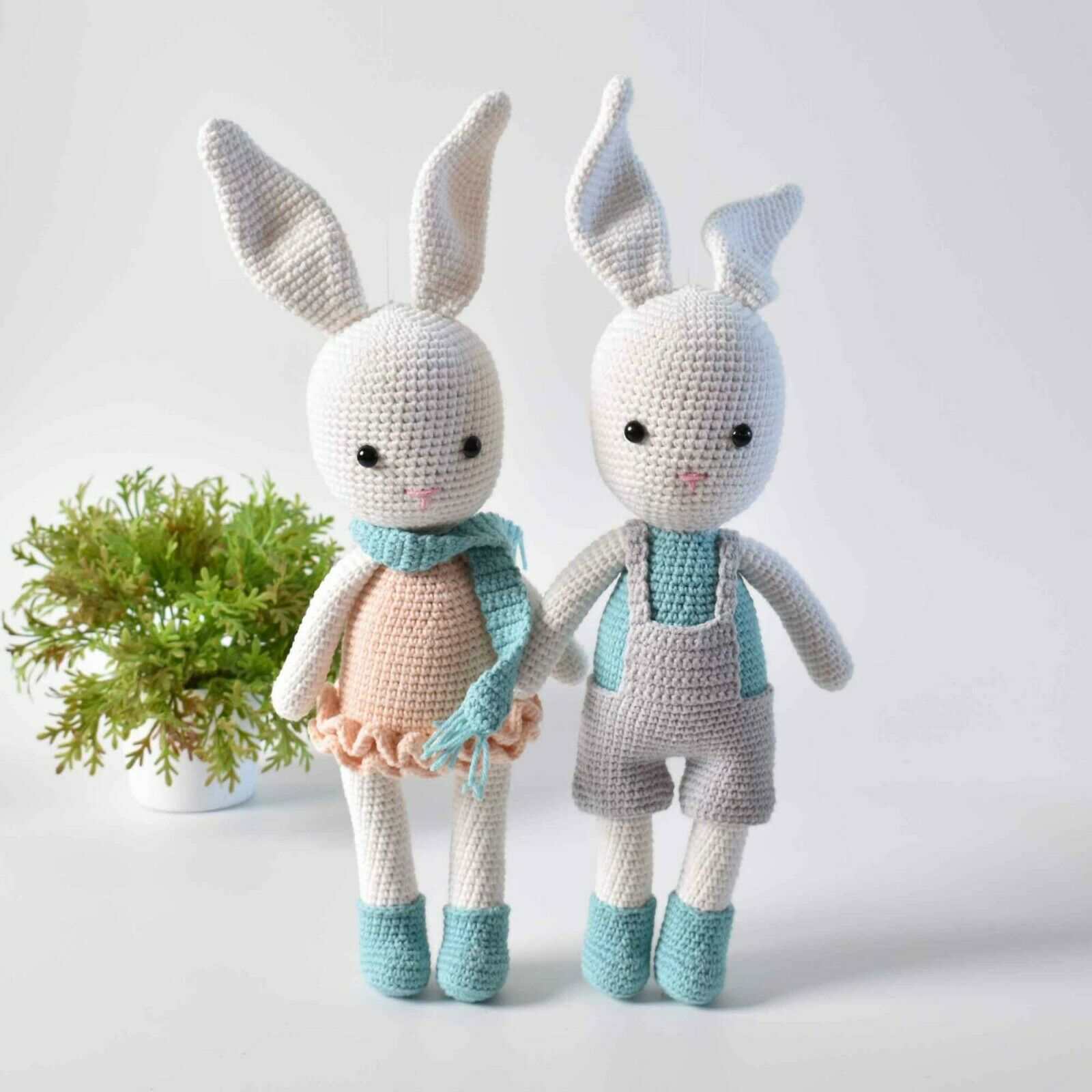 11 Crochet Bunny Patterns -Easter Fun - A More Crafty Life | 1600x1600