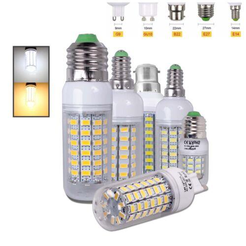 5W-12W LED E14 E27 G9 B22 Birne Glühbirne Leuchtmittel Lampe Warmweiß Kaltweiß