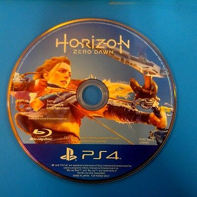 Horizon  Zero Dawn    Sony Playstation 4  2017  Disc Only   14194
