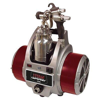 Titan Capspray 105 Hvlp Airless Paint Sprayer Elite Gun 0524033