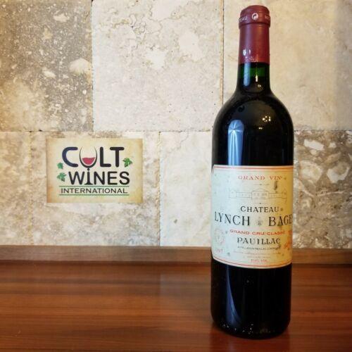 1997 Chateau Lynch Bages Bordeaux wine, Pauillac