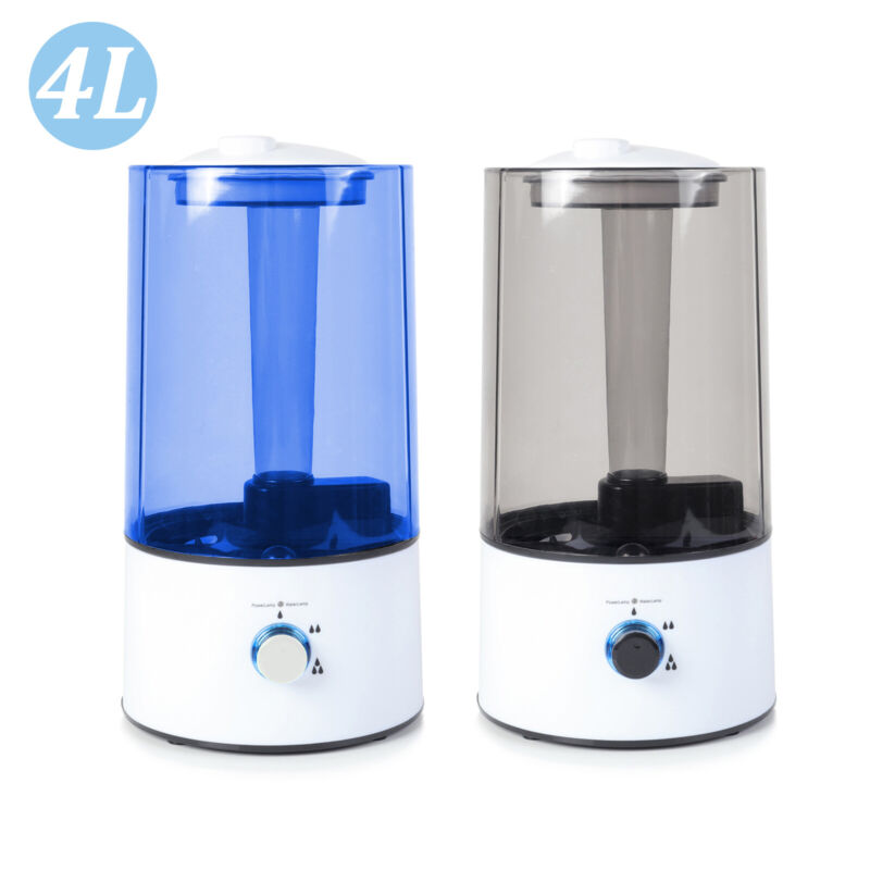4L Humidifier Essential Oil Diffuser Cool Mist Air Aromatherapy Ultrasonic Aroma