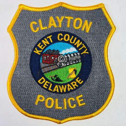 Clayton Police Kent County Delaware DE Train Patch
