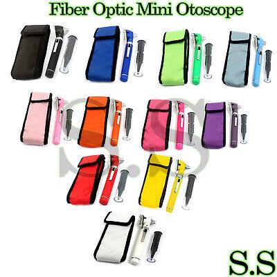 Fiber Optic Mini Otoscope Color Diagnostic Set