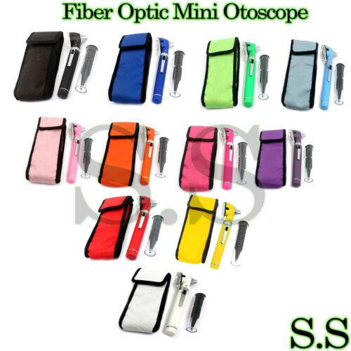 Fiber Optic Mini Otoscope Color (Diagnostic Set) (Pick a Color)