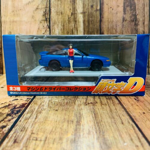 SEGA Japan 2004 Initial D Machine & Driver Figure Collection Sileighty & Mako