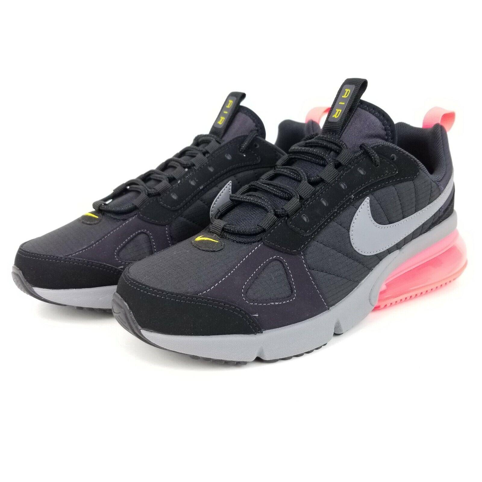 Nike Air Max 270 Futura Mens Running Shoes Black Grey Pink