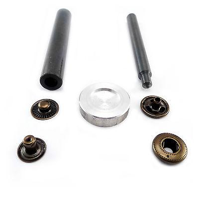Handschlageisen Hand - Werkzeug für S-Feder Druckknöpfe 15 mm C46