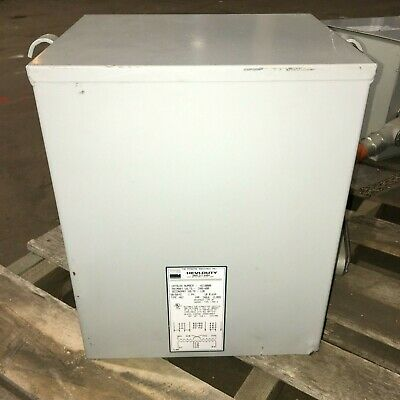 Egs Hevi-duty Hz10000 Step-down Transfomer 30kva 1-phase 240480vac To 120vac