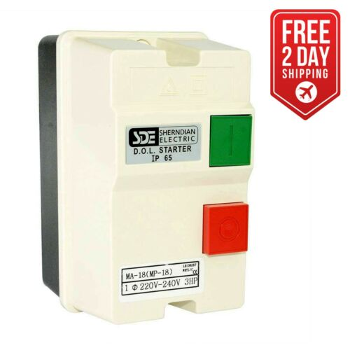 Big Horn 18823 1-Phase, 220-240-Volt 3-HP 18-26-Amp Magnetic Switch CSA Approved