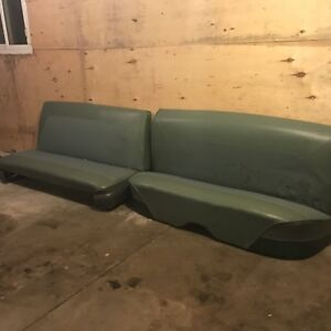 Front and rear seats for a 1958 Ford