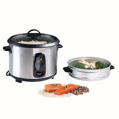 Olla Vaporera Cocedor Electrico para cocer al vapor arroz verduras pescado 6365