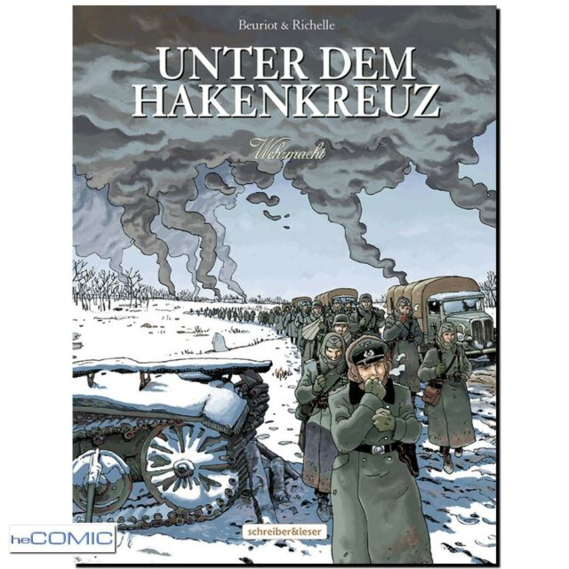 Unter dem Hakenkreuz 6 Wehrmacht Jean-Michel Beuriot 2.Weltkrieg COMIC 30er NEU