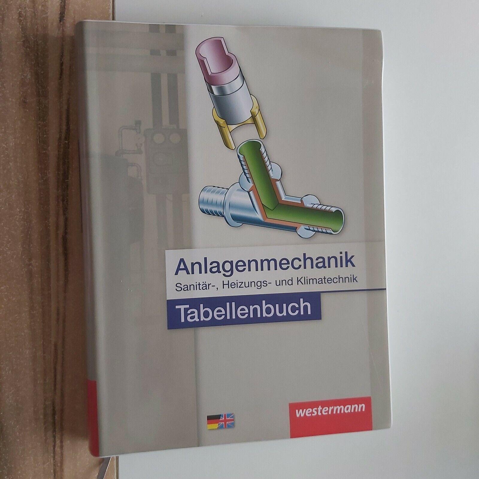 Tabellenbuch  Anlagenmechanik Sanitär-, Heizungs-und Klimatechnik 2.Auflage