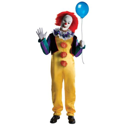 Rubies Men's It The Movie Adult Pennywise Deluxe Costume | 881562