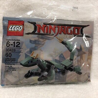 LEGO 30428 Ninjago Movie Green Ninja Mech Dragon 60 Pieces New Sealed Polybag