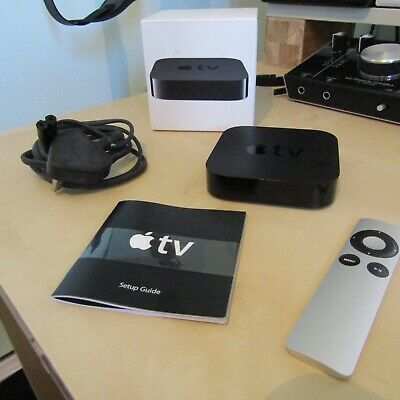 Apple TV (3rd Generation) 8GB HD Media Streamer - A1427 - Used and Cleared