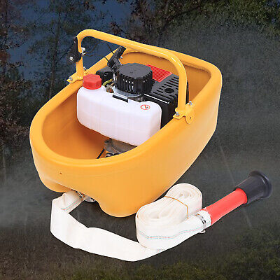 2 Stroke Portable Gas Powered Water Pump Garden Irrigation Boat Type 1.5 Outlet