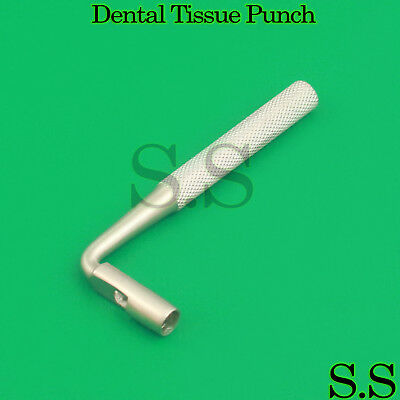 3 Dental Tissue Punch 4mm Angled L Shape Surgical Instruments