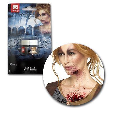 25g Halloween Horror SFX Zombie Scab Blood Liquid Latex Skin Wound Makeup Pot](Halloween Sfx)
