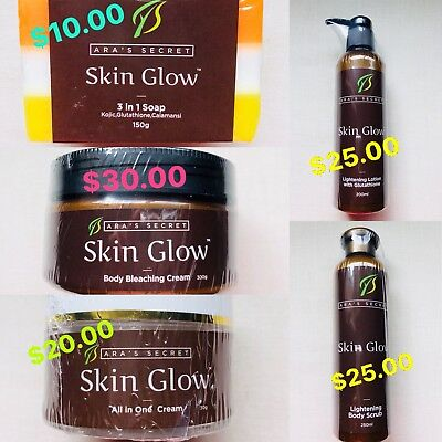 Glowing Products (🌸🌸Ara'sSecret Whitening/Skin Glowing Products)